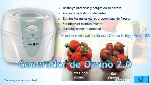Ozono fridge vida 10 - Vida 10 ozono ...